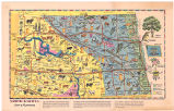 North Dakota, land of opportunity map