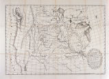 A map of the continent of North America : between the 35th and 51st degrees of North latitude and...