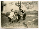 Elsie Milde with friends, Bismarck, N.D.