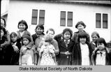 School children, Fort Berthold Indian Reservation, N.D.