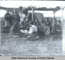 Women's sewing meeting, Fort Berthold Indian Reservation, N.D.