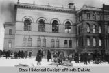 North Dakota State Capitol fire