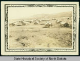 View of Civilian Conservation Corps camp, companies 2771 and 2772, near Watford City, N.D.