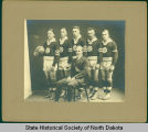 Bowbells High School basketball team, Bowbells, N.D.