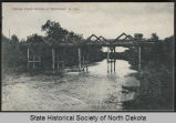 Mouse River Bridge at McKinney, N.D.
