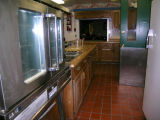 Kitchen at Oscar Zero missile alert facility near Cooperstown, N.D.