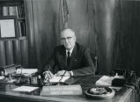 C. Norman Brunsdale in governor's office