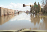 Flooding on Gateway Drive, Grand Forks, N.D.