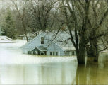 Flooded house, Grand Forks, N.D.