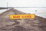Flooded road, Red River Valley, N.D.