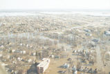 Aerial view of a flooded residential area, Grand Forks, N.D.