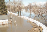 Ruptured sandbag dike, Grand Forks, N.D.