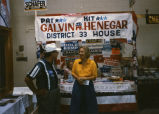 Susan Wefald at Pat Galvin-Kit Henegar political booth