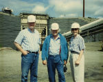 North Dakota Public Service Commissioners at mine