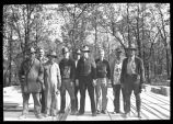 Civilian Conservation Corps crew at Turtle River State Park, N.D.