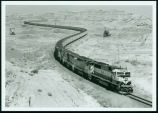 Coal train on the prairie, Sully Springs, N.D.