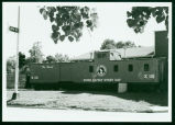 Great Northern caboose, Devils Lake, N.D.