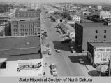 Looking east on Main Avenue, Bismarck, N.D.
