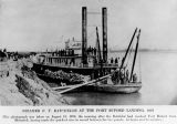 Steamer F.Y. Batchelor at Fort Buford landing, Dakota Territory