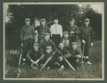 Pleasant, North Dakota baseball team portrait