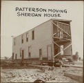 Moving the Sheridan House, Bismarck, N.D.
