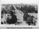 5th Street looking north, Bismarck, N.D.