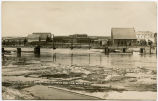 Cannon-Ball river at high tide, Mott, N.D.