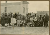 Group of people dressed in costume, N.D.