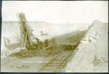 Steam shovel at work, Mott, N.D.