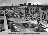 4th Street looking north, Bismarck, N.D.