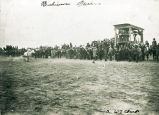 Horse races, Dickinson, N.D.