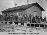 Northern Pacific Railroad Station, Bismarck, N.D.