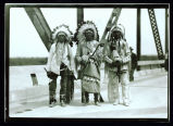 Four Bears Bridge dedication ceremony, Elbowoods, N.D.