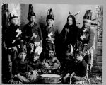 Children dressed as Indians, Pembina, N.D.
