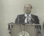 Governor Allen Olson concedes governor's race press conference video