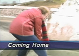 News video on residents in the Breckenridge, Minn.-Wahpeton, N.D. area returning to their homes after