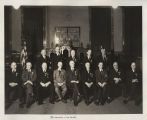 Grand High Priests portrait, Golden Jubilee Convocation, Grand Chapter Royal Arch Masons of North...