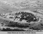 Aerial view of Fraine Barracks, Bismarck, N.D.