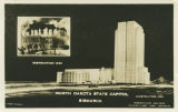 North Dakota State Capitol postcard