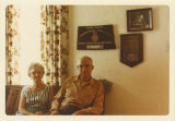 Frank and Esther Wenstrom at home in Williston, N.D.