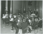 Governor's band at Constitutional Convention opening, Bismarck, N.D.