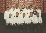 Masonic Grand Lodge officers portrait