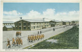 Barracks Camp Upton, Long Island, N.Y. Lindegren arrived June 3 1919