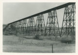 Gassman Coulee railroad trestle west of Minot, Ward County, N.D.