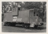 Burlington-Northern caboose, Roosevelt Park, Minot, Ward County, N.D.