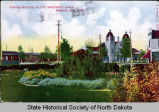Grounds beautified by Civic Improvement League, Bismarck, N.D., 1909