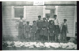Students of Garnes Township School, Burke County, N.D.