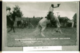 Elmer Clark on High-Stepper, Elks State Convention, Dickinson, N.D.