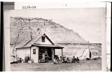 H.V. Johnston's ranch home on Sully Creek, Medora, N.D.