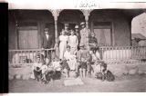 H.W. Hilborn family with 14 children, Portal, N.D.